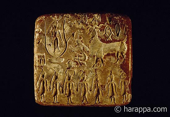 Mohenjo Daro Seals Harappa And Mohenjo Daro Seals